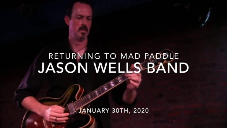 Jason Wells Band Coming To Mad Paddle Brewstillery 1-30-21